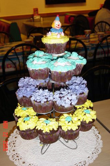 Clown Cup Cake