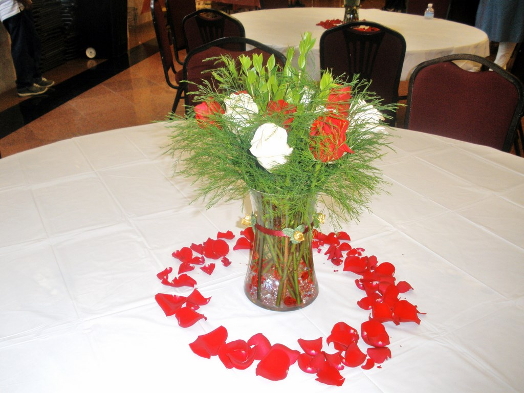 These Arrangements Were Done For A Wedding Celebrated On July 16 2010