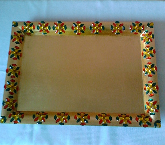 Plate-MultiColor-Kundan