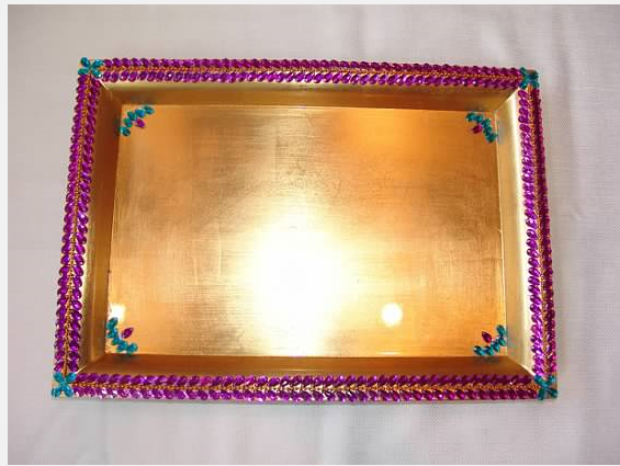 Purple Tray