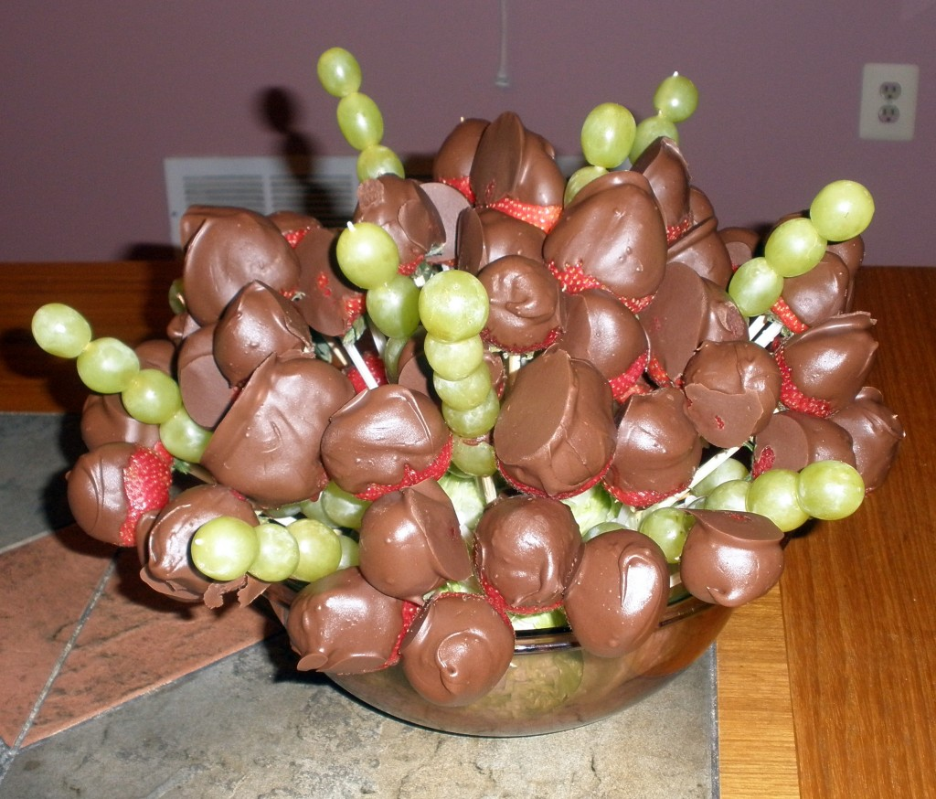 Chocolate Fruit Basket