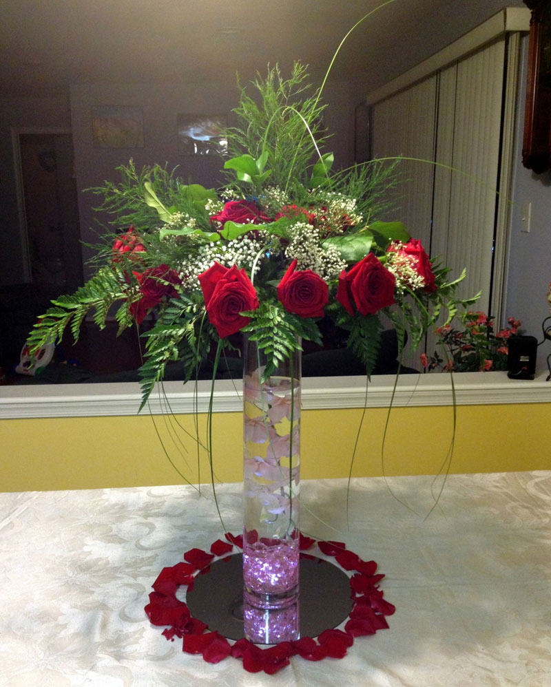 tall wedding centerpieces  u2013 raji creations