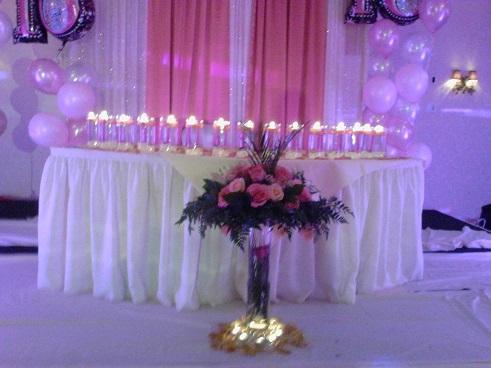 Sweet Sixteen Decoration Raji Creations