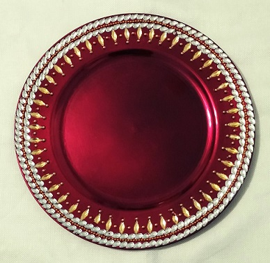 Colorful Decorative Plates Raji Creations