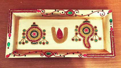 Decorated-Gold-Tray